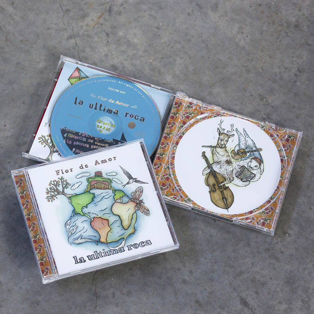 "Illustraties voor CD ""Flor de Amor"""