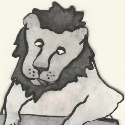 leeuw op school 1
