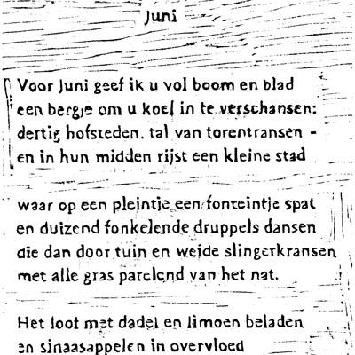 juni tekst